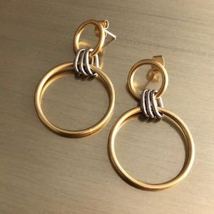 Madewell Two-Tone Earrings
